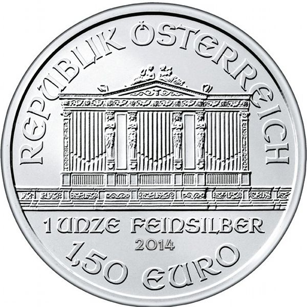 1 Oz Silver Philharmonic Coins