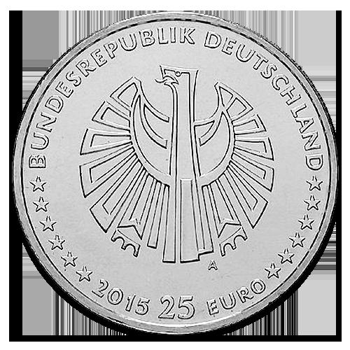 25 Euro Germany German Unity Silver 2015