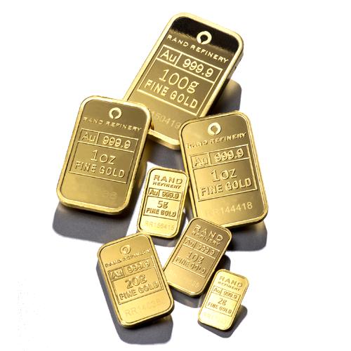 50g Gold Bar Loxodonta Africana 50 Gram