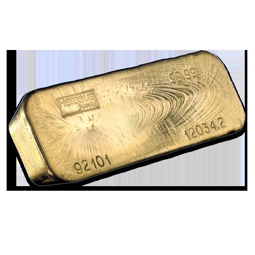 400 Oz Gold Bullion Bar