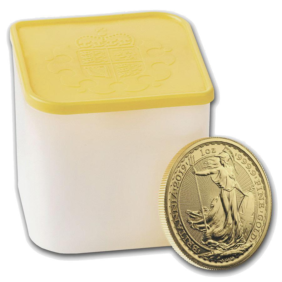 10 X 1 Ounce 2019 British Britannia Gold Coin