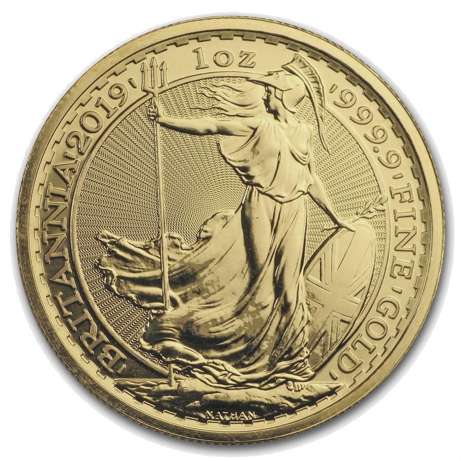 Monster Box 1 Ounce 2019 British Britannia Gold Coin