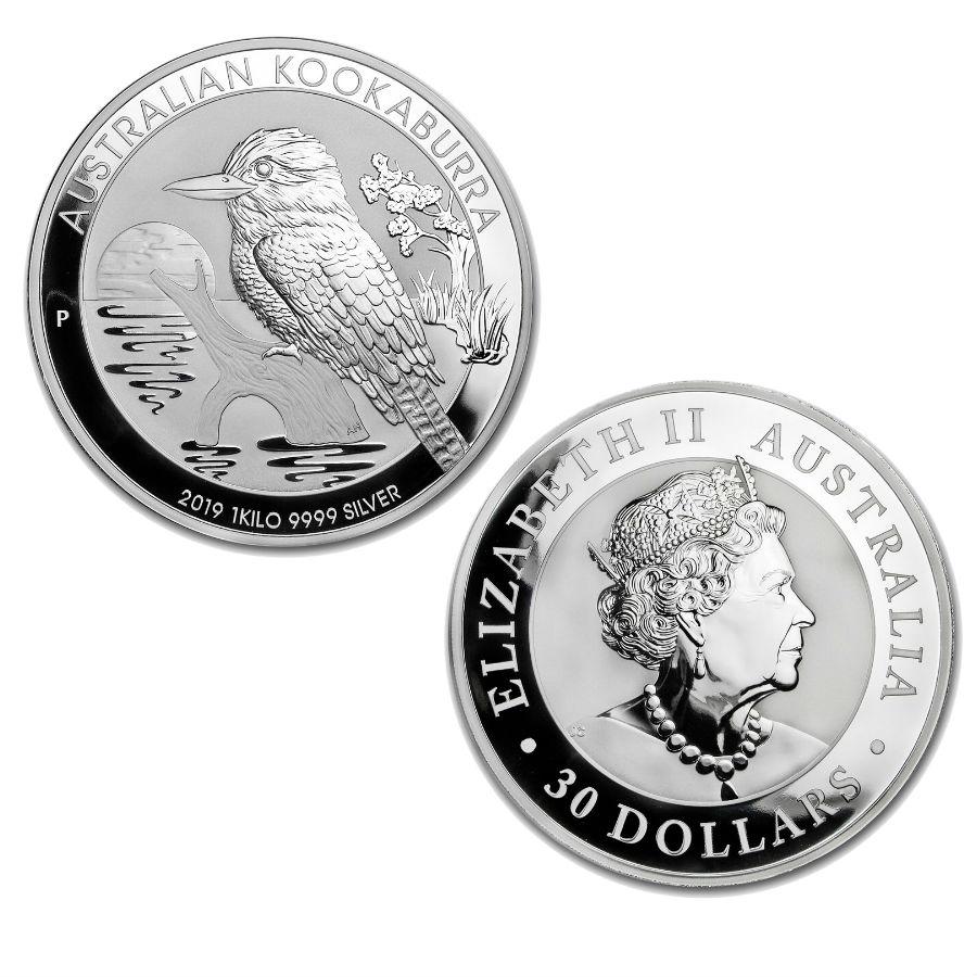 1 Kg 2019 Silver Kookaburra Coin