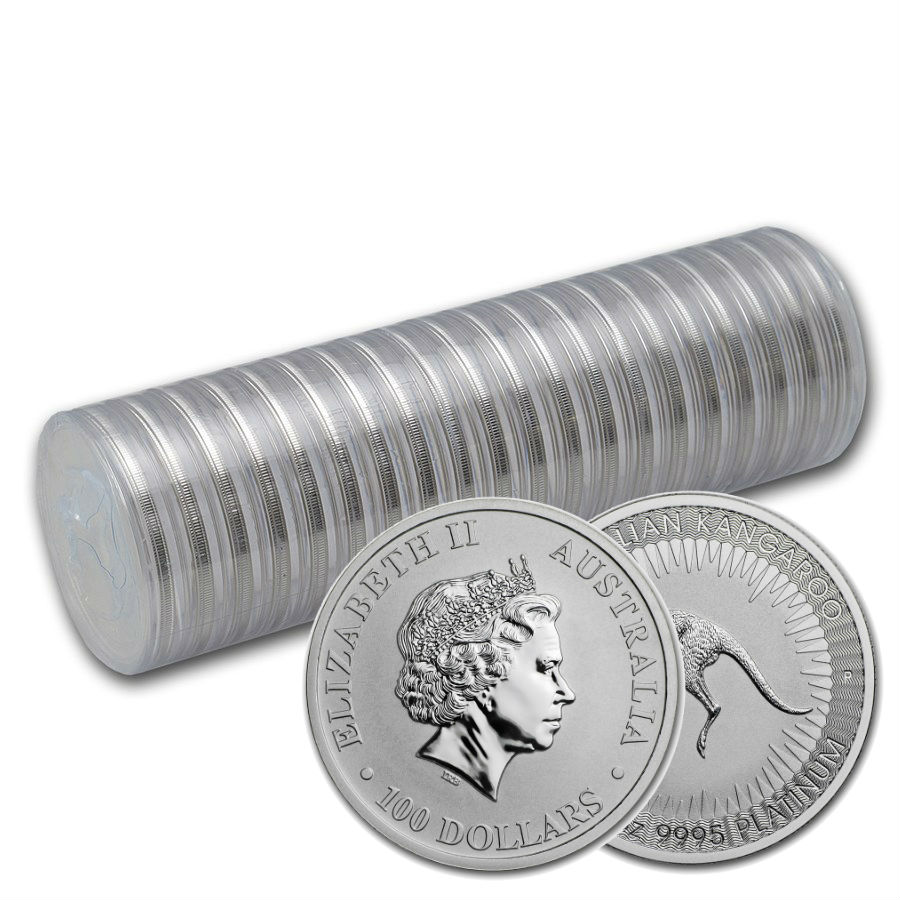 Wholesale 20 X 1 Ounce 2019 Platinum Kangaroo Coin