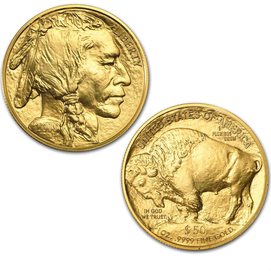 Monster Box 1 Ounce 2019 Gold American Buffalo