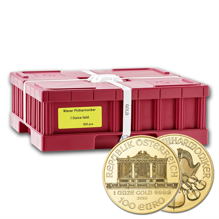 Monster Box 1 Ounce 2019 Philharmonic Gold Coins